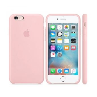 coque iphone 6 plus silicone rose