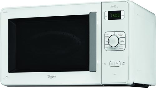 Whirlpool Jet Cook JC 218 WH - Four micro-ondes combiné - grill - pose libre - 30 litres - 1000 Watt - blanc