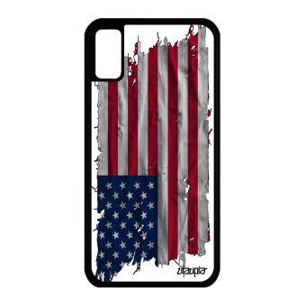 coque iphone x drapeau americain