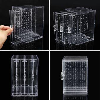 en acrylique transparent anti-poussière boîte de rangement de bijoux bijoux pour femmes - Bijoux ...
