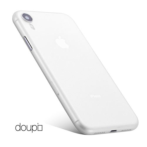 coque iphone xr blanc ultra slim