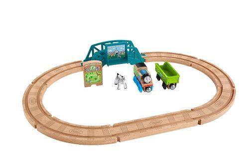 Thomas et ses amis coffret parc animalier en bois, jouet pour enfant 3 ans et plus, FKF51