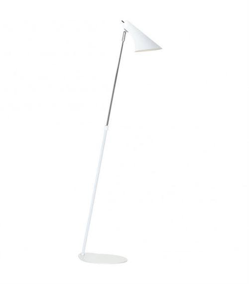 Lampadaire blanc VANILA 129 Cm
