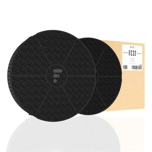 Fc32 - filtre à charbon compatible hotte smeg kitfc500
