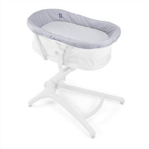 Chicco table à langer Baby Hug junior textile gris