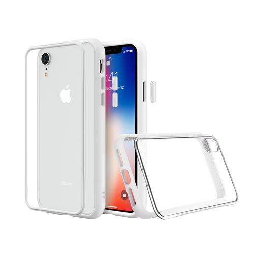 Coque Mod NX RhinoShield pour iPhone XR Personnalisable Blanc