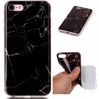coque iphone 7 plus marbre noir