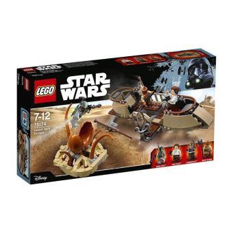 Lego star wars 75174 evasion de desert skiff