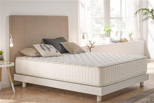 Moonia - Matelas Olympus Gel - 100X190, 30 Cm, Ergonomique / relaxation