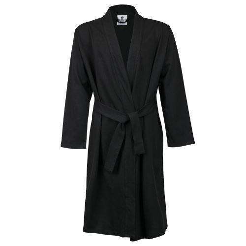 Towel City - Robe de chambre style kimono - Femme (9-10 ans) (Noir) - UTRW5575