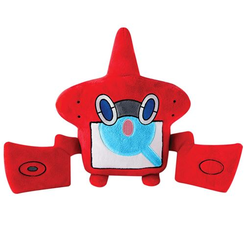 TOMY Pokemon t19352 &ndash Grande Peluche Rotom, Peluche de Haute qualité pour Jouer et Collectionner, 25 cm, à partir de 3 Ans, Jouet en Peluche, différentes Couleurs.