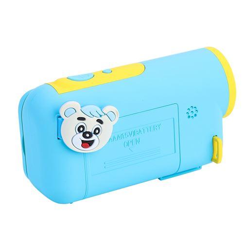 Mini plastique portable cadeau enfants mignons enfants numérique LSR appareil photo (bleu)
