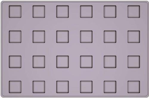 Mallard ferrière moule silicone premium 24 cubes