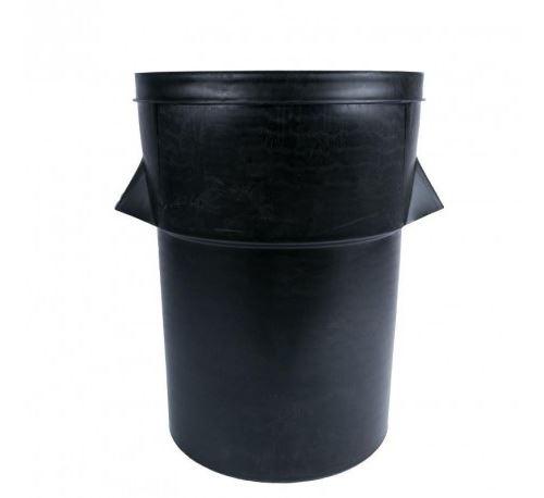 Poubelle en plastique noire 94l