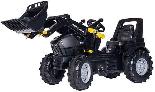 Rolly Toys tracteur escalier RollyFarmtrac Deutz Agrotron Guerrier noir