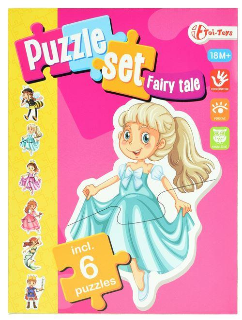 Toi-Toys casse-tête de conte de fées incl 6 casse-tête