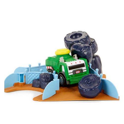 Little Tikes Wheelz - Jeu de jeu Derby Scrapyard Slammin Racers avec son