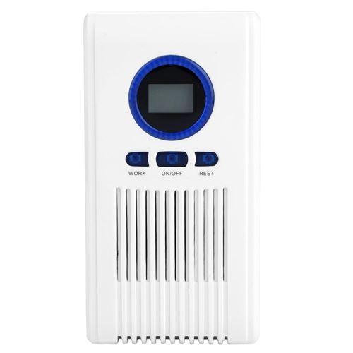 Stérilisateur Machine de Désinfection Purificateur d'Air de Toilette Désodorisant à Ozone 110-240V (EU Plug)