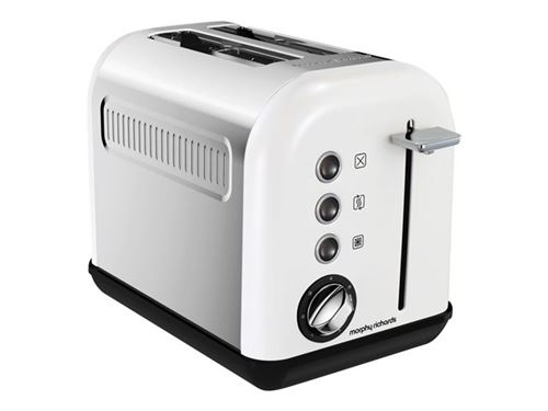 Morphy Richards Accents Refresh M222012EE - Grille-pain - 2 tranche - 2 Emplacements - blanc