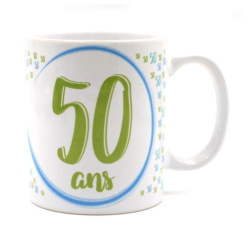 Mug Anniversaire - 50 ans vert