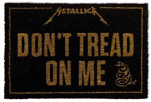Metallica Paillasson Essuie-Pieds - Don´t Tread On Me (60x40 cm)