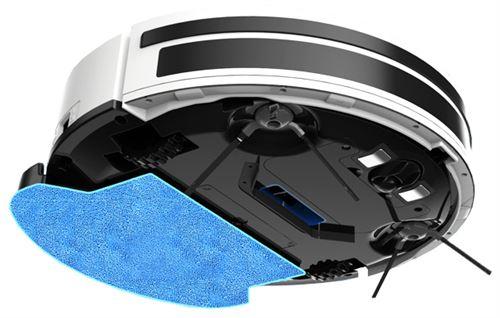 180€ sur Robot aspirateur et laveur AMIBOT Pure H2O Connect