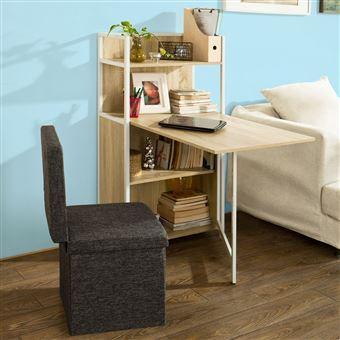 sobuy table pliante de cuisine armoire avec table. Black Bedroom Furniture Sets. Home Design Ideas