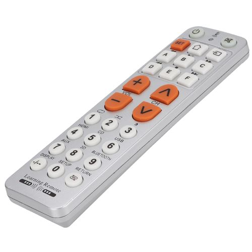 Télécommande à Gros Boutons de Télévision