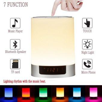 20Sur Veilleuse Bluetooth Lampe Parleur Haut De Communication Led VjqpGzLSUM