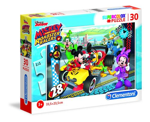 Clementoni puzzle SuperColor Puzzle Mickey Mouse 30 pièces