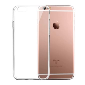 INECK Coque iPhone 6S Protection Flexible gel TPU iPhone 6 Absorption de Choc Resistant aux rayures Tres Legere Bumper Case pour iPhone 6S Transparent