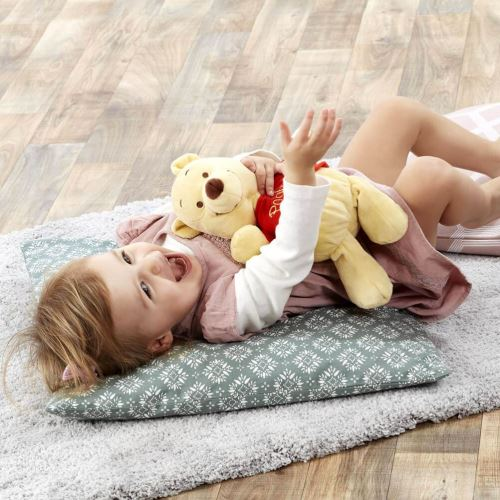Peluche avec bébé Jingle Winnie l'ourson Disney