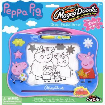 Cra Z Art Peppa Pig Voyage Magna Doodle écran Magnétique Dessin Jouet