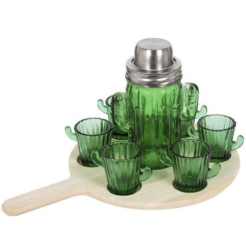 Coffret à cocktails Cactus