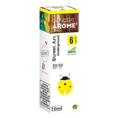 Conceptarôme - E-liquide Mixte Prenium – Underground 6 mg.