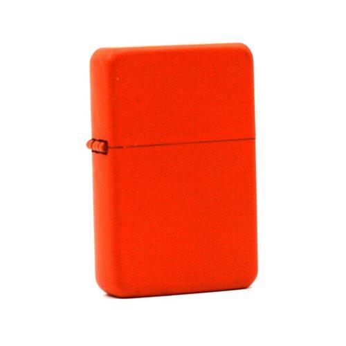 Briquet à Essence Orange - Soft Touch