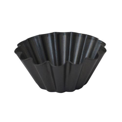Mini moule à brioche 10 cm en acier anti adhésif