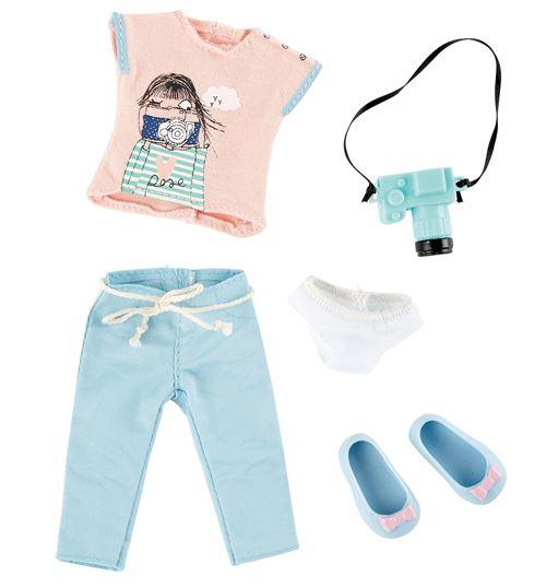 Käthe Kruse Ensemble de vêtements pour poupées adolescentes 5 pièces