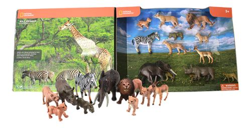 Animaux de la jungle National Geographic