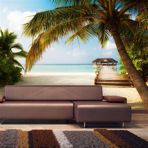 papier peint - paradise beach - artgeist - 400x280