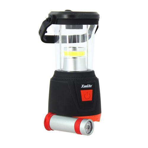 Lanterne LED 2 en 1 - mini torche intégré - 380 lumens