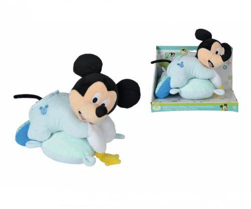 Peluche Mickey boite à musique - 35 cm