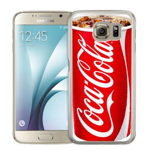 Coque pour Samsung Galaxy S6 fast food coca cola
