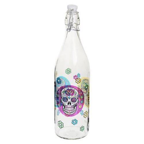 Bouteille à Limonade Mexico Skull 1L Multicolore