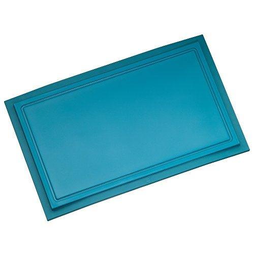 Wmf touch planche à découper lagoon bleu 32 x 20 cm passe au lave-vaisselle jus rainures schnittfest anti-rayures