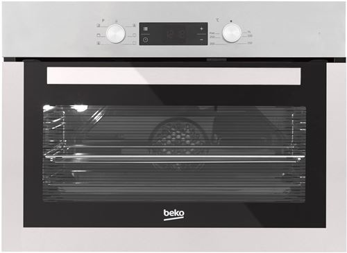 Beko BCE16300X - Four - intégrable - niche - largeur : 56 cm - profondeur : 55 cm - hauteur : 45 cm - avec système auto-nettoyant - classe A - acier inoxydable