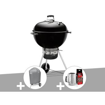 Barbecue Weber Master touch Gbs 57 Cm Noir + Housse + Kit