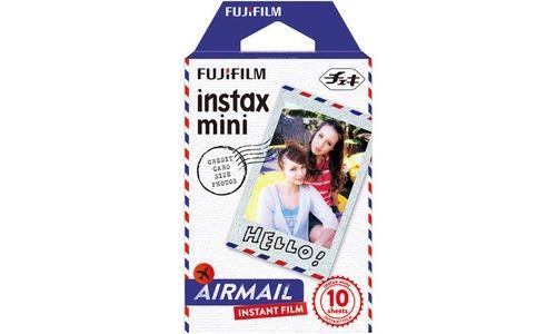 Fujifilm Instax Mini Air mail - pellicule couleur à développement instantané - ISO 800 - 10