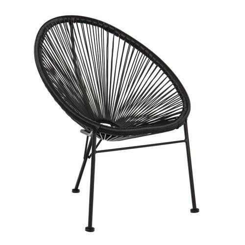 SKLUM Chaise pour enfants Mini Acapulco Noir