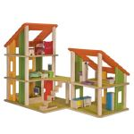 PlanToys - Chalet Dollhouse With Furniture